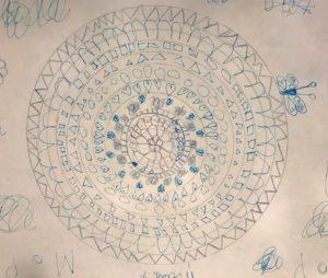 Mandala van een kind